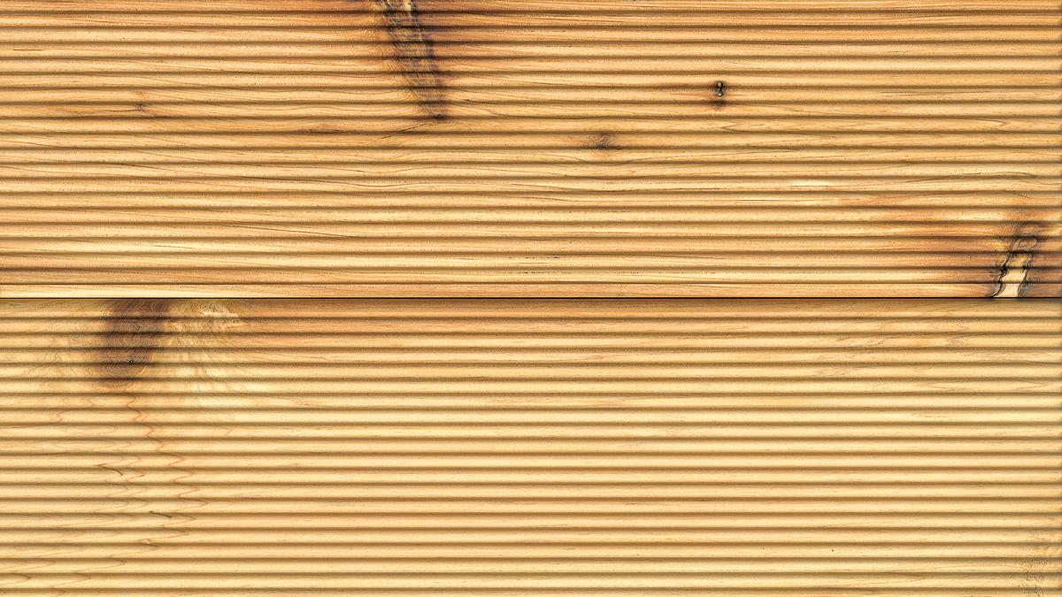 オーストラリアサイプレス 表面 ウッドデッキ