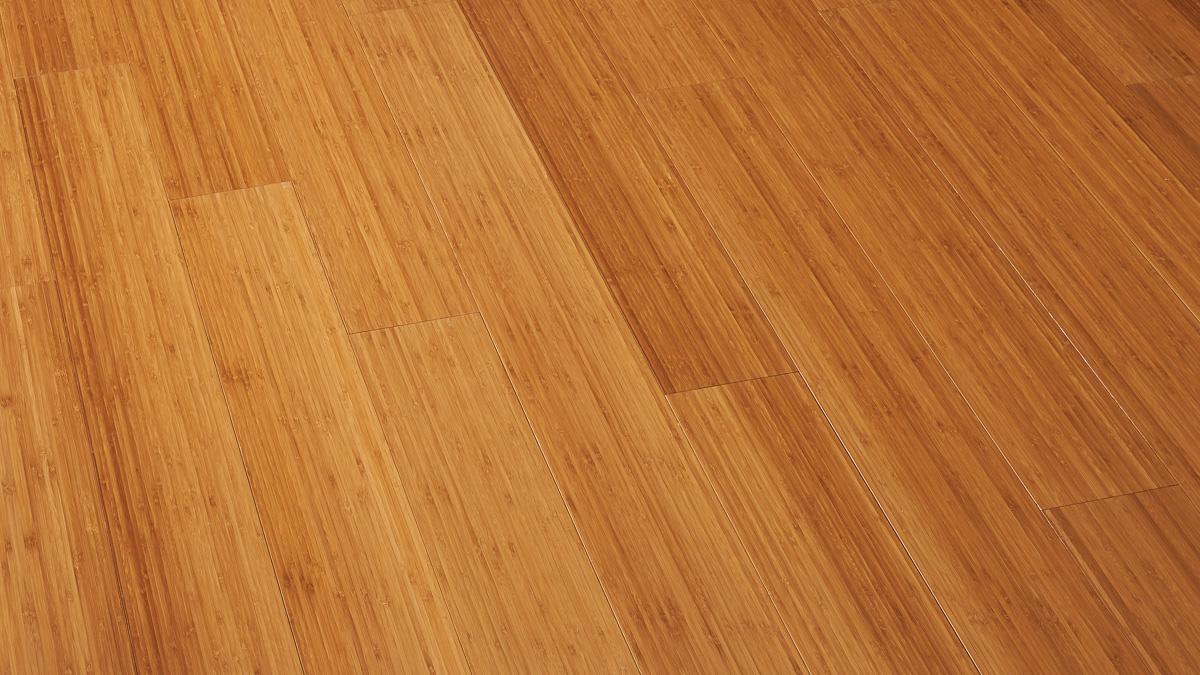 竹 縦集積 ブラウン フローリング