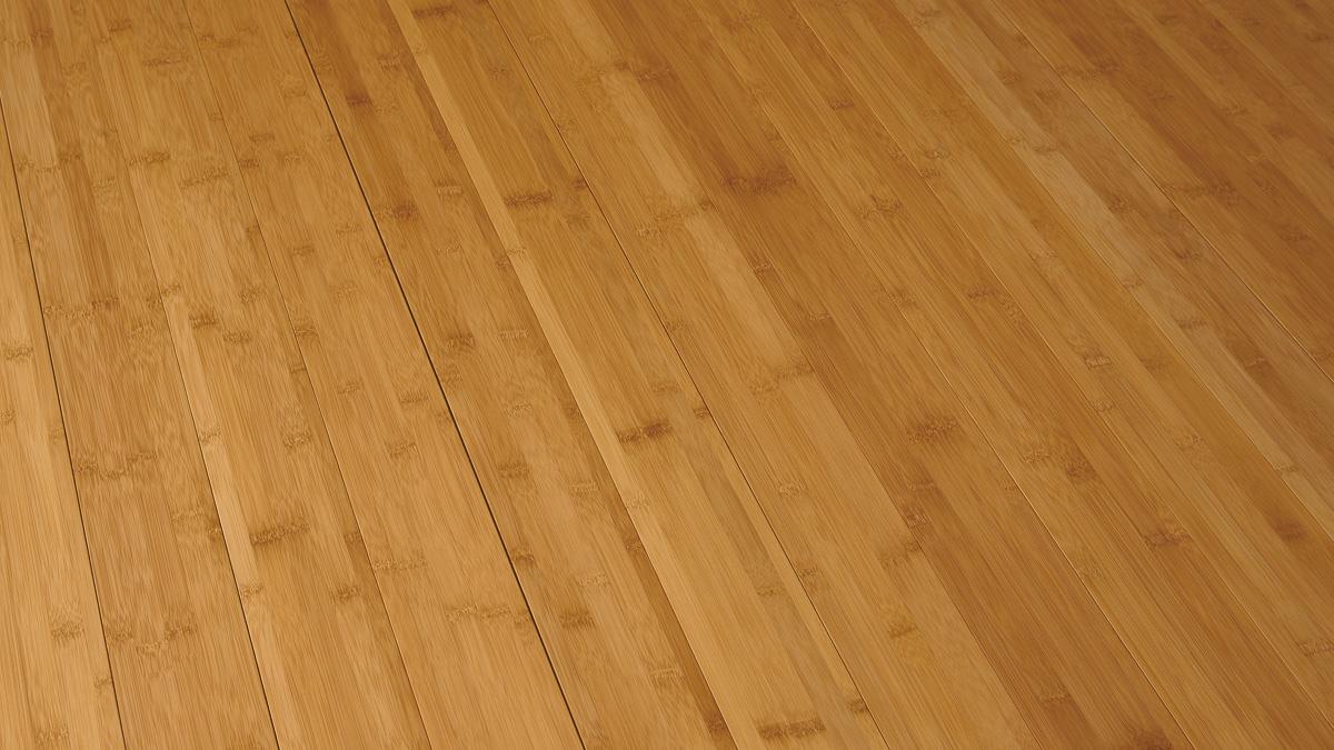 竹 横集積 ブラウン フローリング