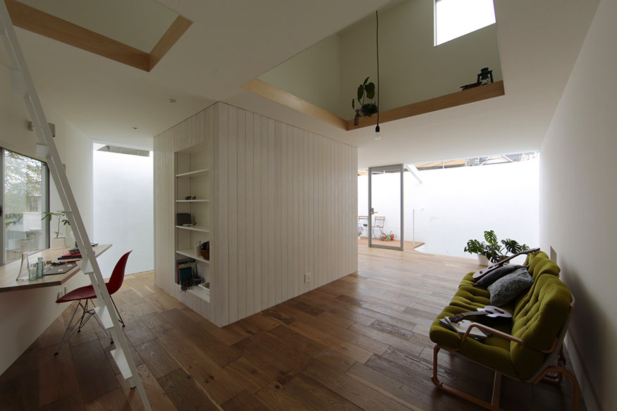 大曽根の家 設計:EANA 施工:栄港建設