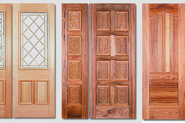 無垢のドア