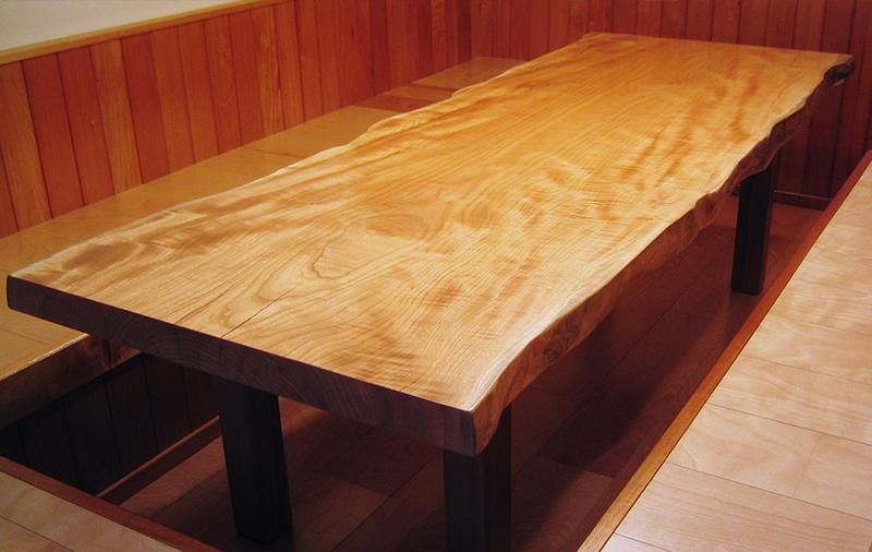 テーブルトップ 樹種:ナツメ