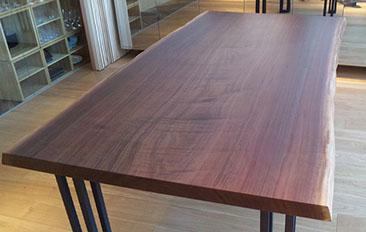 テーブルトップ 樹種:アメリカンブラックウォールナット